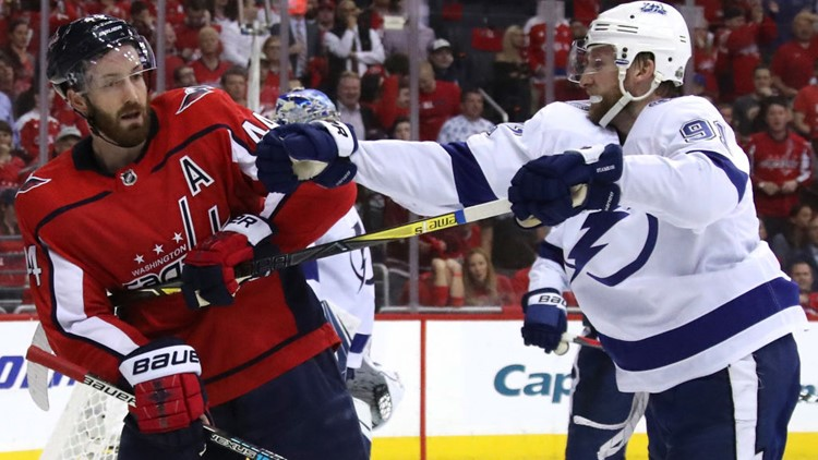 The Tampa Bay Lightning got back into the Eastern Conference Finals with a decisive 4-2 win over the Washington Capitals.