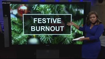 Can you feel it? Can you feel it? Can you feel it? It's festive burnout