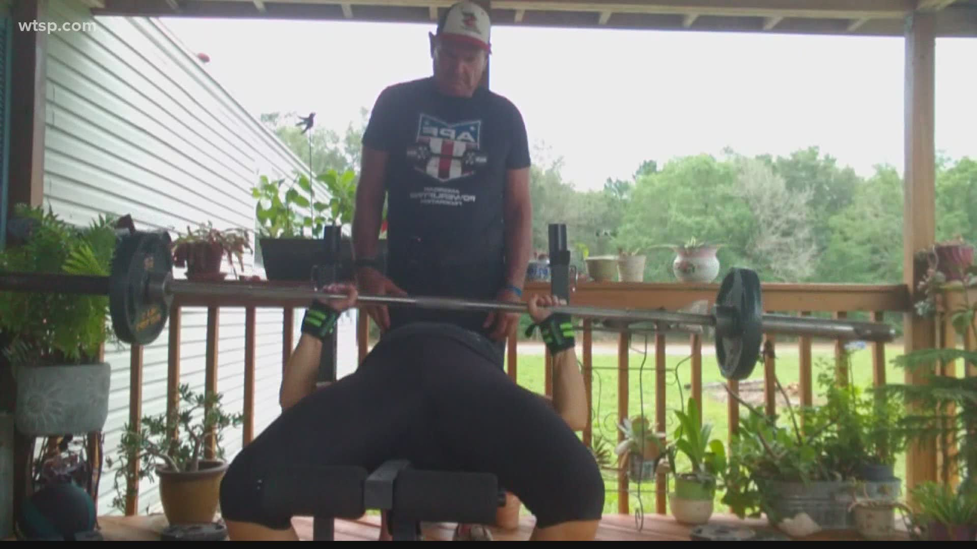 Senior Couple Doesn T Let Pandemic Stop Their Training Wtsp Com