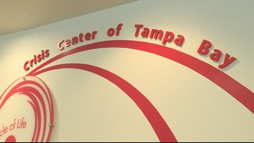 Crisis Center of Tampa Bay sees increase in calls for COVID-19 support