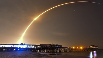 Space Coast will host yet another early morning SpaceX launch next weekend