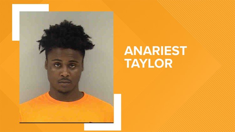 Anariest J. Taylor is charged with murder using a firearm arm.