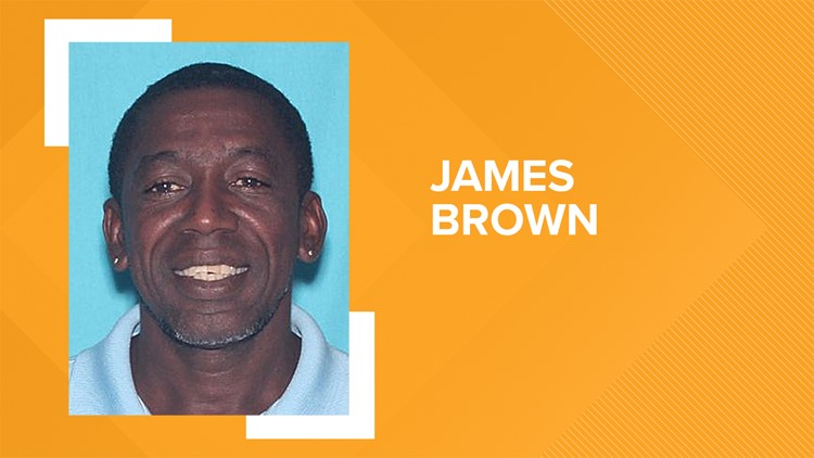 Police said James Brown Jr. shot and injured his 52-year-old ex-girlfriend inside of a home.