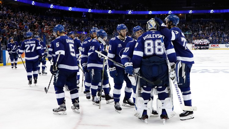The Lightning start the preseason on Sept. 18 by hosting the Carolina Hurricanes at Amalie Arena.