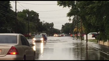 Storms across Tampa Bay produce street flooding and power outages