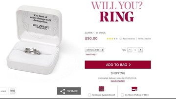 Will you buy the 'Will You? Ring'? | It's the newest trend in engagement rings