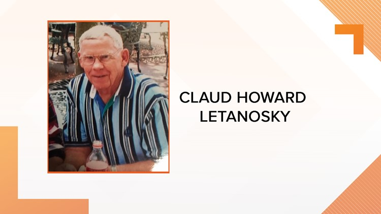 Claud Howard Letanosky has been found safe in St. Pete.