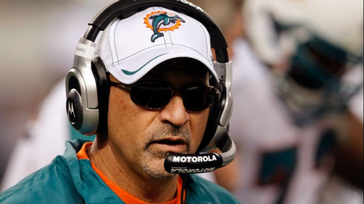 Tony Sparano died unexpectedly at his home Sunday morning