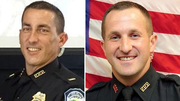 Lt. Scott Golczewski and Sgt. Michael Griffiths