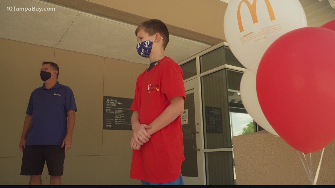 Local 4th grader asks for donations instead of birthday gifts