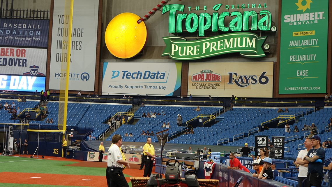 Now with power problems, Rays fans pounce on the Trop