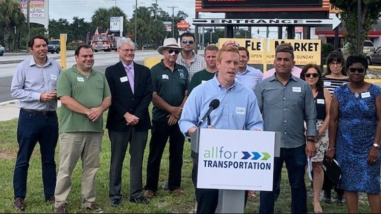 More than 70,000 people have signed a petition to hold a vote on increasing road and transportation funding through a sales tax hike in Hillsborough County.