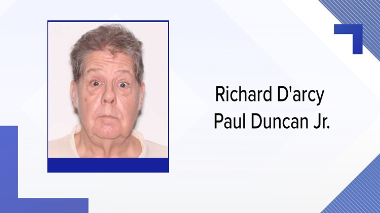 Richard D'arcy Paul Duncan Jr. left his home located at 22340 Northeast 77th Terrace Road in Citra Friday, according to deputies.