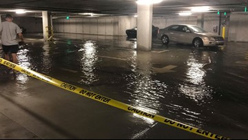 'We just feel so trapped': Code enforcement finds violations at luxury apartment after flooding