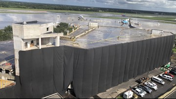 Fire in the hole: Old rental car garage to come down at Tampa airport