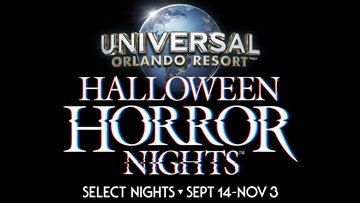 10 News WANTS TO SEND YOU TO UNIVERSAL ORLANDO'S HALLOWEEN HORROR NIGHTS™