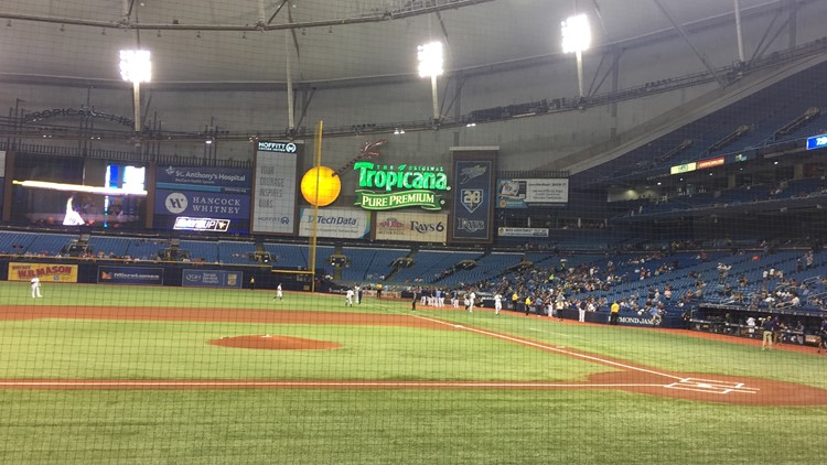 Rays' Tropicana Field will become first cash-free sports venue in North America