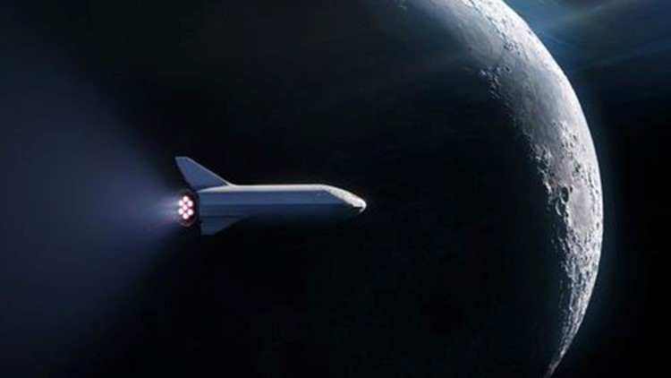 SpaceX will announce more details about Big Falcon Rocket and the passenger on Monday at 9 p.m. ET.