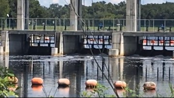 Tampa Bypass Canal was built in response to flooding devastation similar to Florence