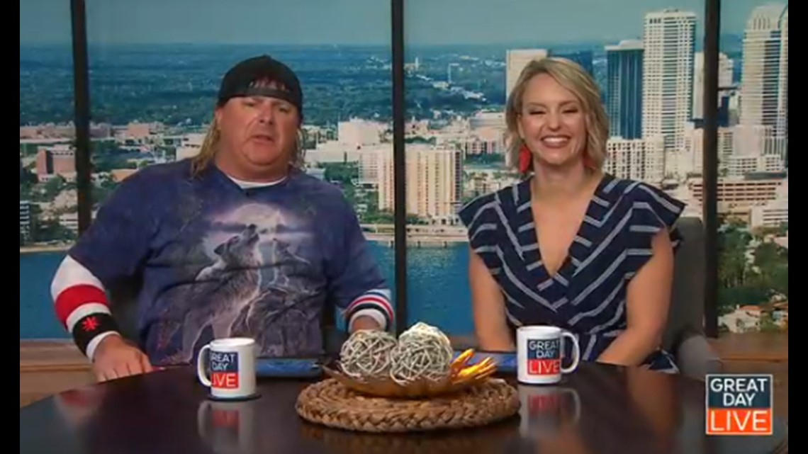 Gas Prices Tampa >> Comedian Donnie Baker cohosts GDL | wtsp.com