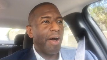 'More toll roads are not the answer' says Andrew Gillum after 10Investigates story