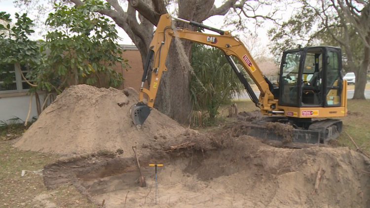 Excavation reveals 15 grave shafts, confirming at least 54 graves at destroyed Black cemetery site in Clearwater