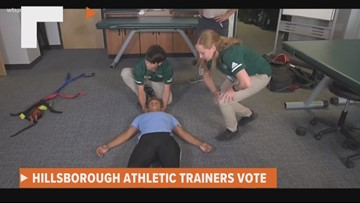 School leaders to vote on having athletic trainers in all high schools