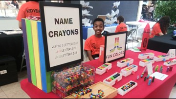 Tampa siblings launch hypoallergenic crayon business, so kids with allergies feel included