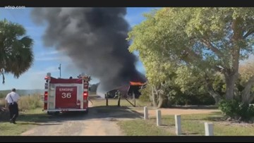 Fire burns down building at Highlands County 4-H camp
