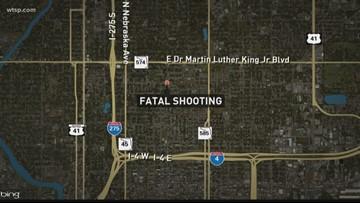 1 person shot, killed in Tampa neighborhood