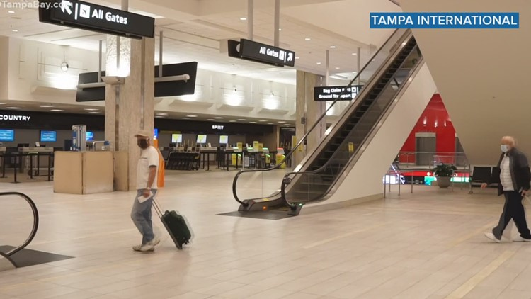More than 300 jobs are available at Tampa International Airport