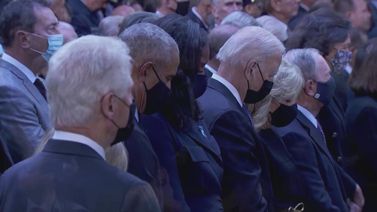Moment of silence held to commemorate second plane hitting the World Trade Center
