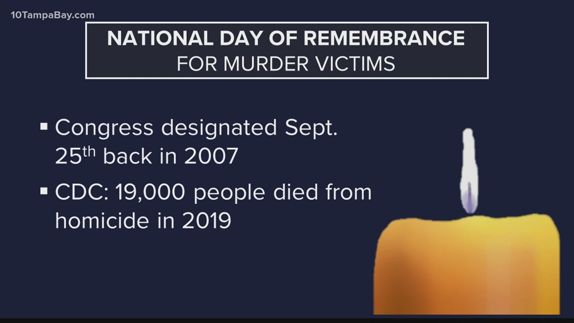 National Day of Remembrance for Murder Victims honors those lost to homicide