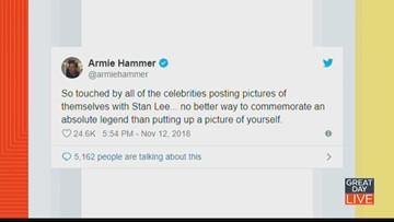 Trending: Super Bowl & Stan Lee