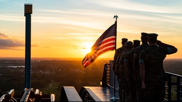 Busch Gardens offers free admission to veterans and families through July