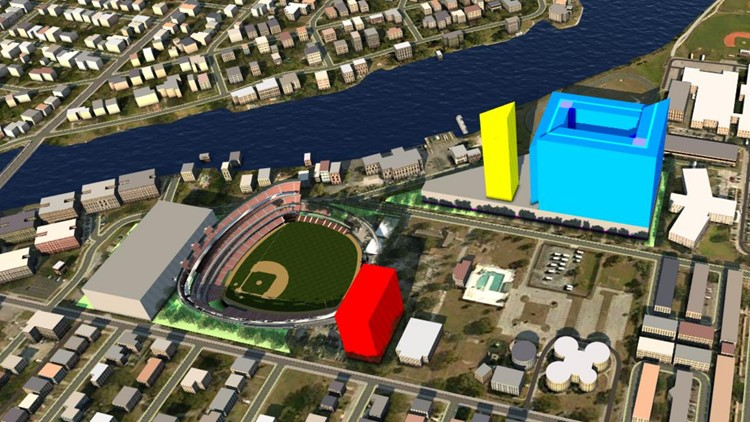 New Tampa Bay Rays ballpark pitched to Hillsborough ...