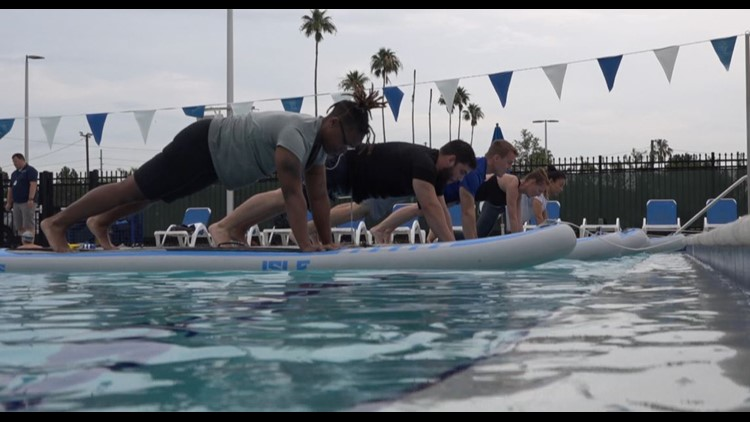 Don't forget your bathing suit: This is stand up paddleboard fitness