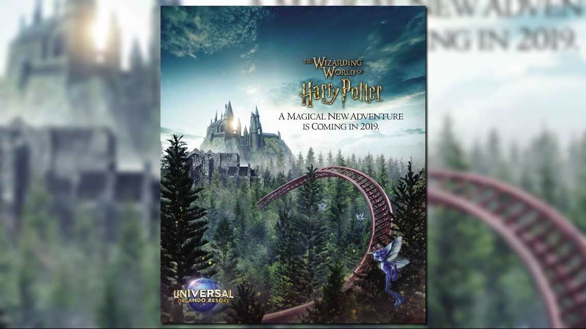 All Weather Tire >> Universal Orlando, Pottermore tease new Harry Potter roller coaster coming in 2019 | wtsp.com