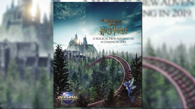 Gas Prices In Florida >> Universal Orlando, Pottermore tease new Harry Potter roller coaster coming in 2019 | wtsp.com