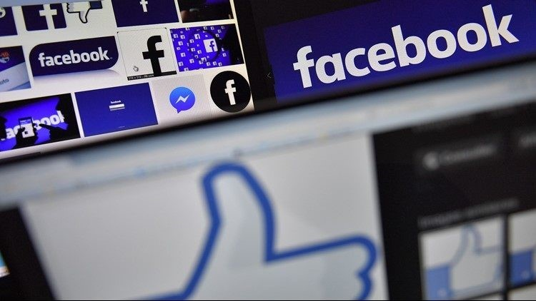 Facebook warning users about a viral hoax