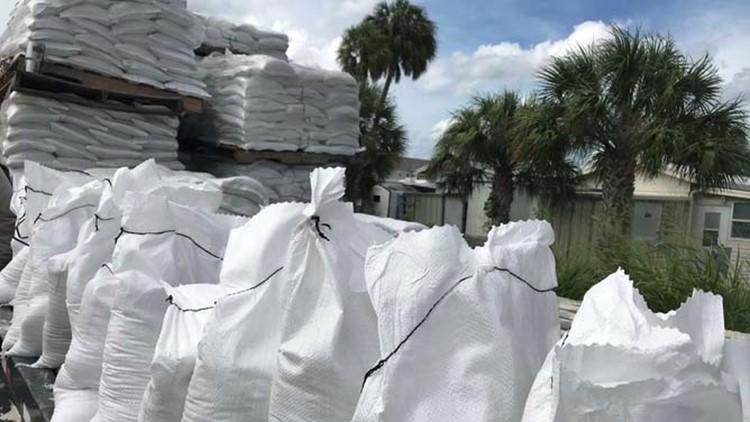 City of Brooksville opens sandbag site ahead of Tropical Storm Elsa