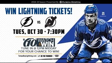 Win Tampa Bay Lightning Tickets