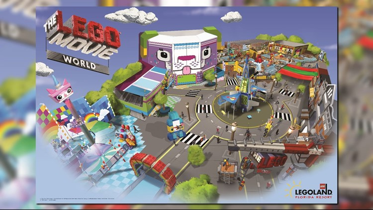Legoland Announces 3 New Rides Coming To New Lego Movie World In