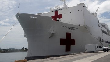 US Navy hospitals ships joining fight against coronavirus. How can they help?
