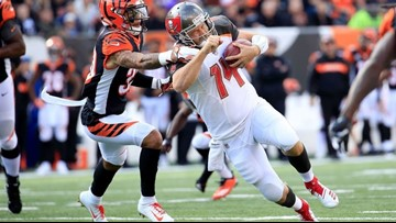 Not enough 'FitzMagic': Tampa Bay Bucs fall to the Bengals 37-34