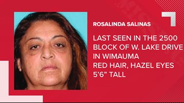 Hillsborough deputies looking for missing woman who possibly is in danger