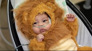 Johns Hopkins All Children's Hospital hosts special 'reverse' trick-or-treat for patients