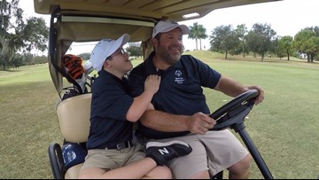 Bradenton father-son golf duo eager for 2022 Special Olympics