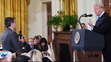 White House again threatens to suspend press pass for CNN's Jim Acosta
