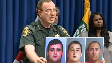 Polk corrections officers accused of smuggling cash into prison for inmates